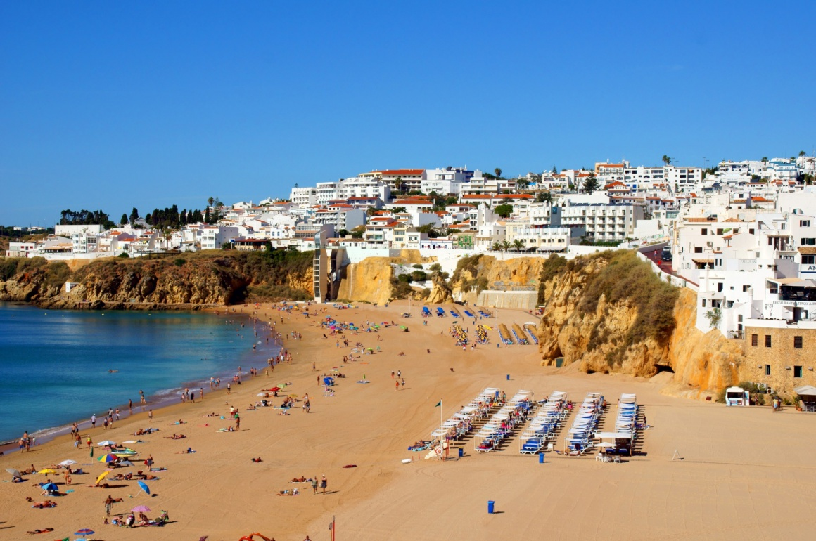 'the beach in portugal / holiday feeling' - Algarve